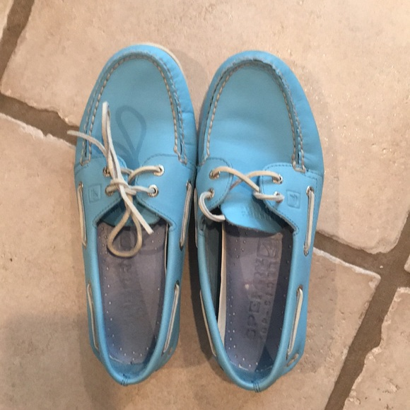 Sperry Shoes | Baby Blue Topsiders